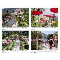VILLA ET JARDINS EPHRUSSI DE ROTHSCHILD : Découvrez la 6ème édition de la « Fête des Roses & des Plantes » à Saint-Jean-Cap-Ferrat, sur la Côte d'Azur les 2 et 3 mai 2015