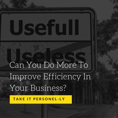 Never has it been so essential to ensure your business is operating efficiently. Efficiency keeps you competitive and it keeps costs down. But striving for those efficiencies can bog you down in he...