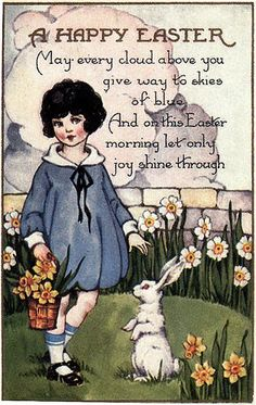 Vintage easter postcard art deco era girl digital image printable easter verse Source by etsy Easter Art, Easter Crafts, Hoppy Easter, Vintage Easter, Vintage Holiday, Vintage Cards, Vintage Postcards, Vintage Stuff, Easter Verses