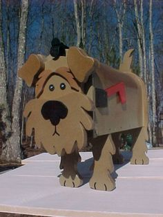 Fox-Terrier-Mailbox-Custom-Dog-Mailboxes-Postal-Mail-Box-Animal-Airedale-Dogs