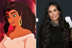 Esmeralda: Demi Moore - The Voices Behind Your Favorite Disney Characters - Photos
