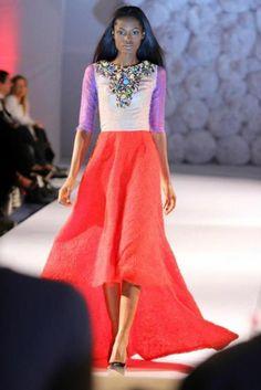 Nigerian Fashion Designers - Ankara, Strong Prints - Odio Mimonet