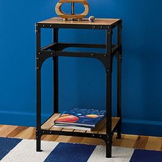 Mason Accent Table also in Teal
