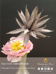 Paper Artist: Andrea Merendi for Cartotecnica Rossi / Italian Crepe & Tissue Papers