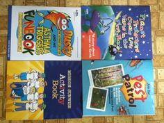 Activity Books from