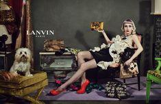 Lanvin fall winter 2012 ad campaign sneak peek photos http://blog.lelaluxe.com/2012/07/lanvin-fall-2012-ad-campaign-sneak-peek.html#