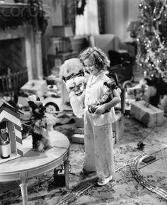 Shirley Temple 1936 christmas