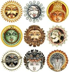 The 9 Planets of Vedic Astrology and their significance.
