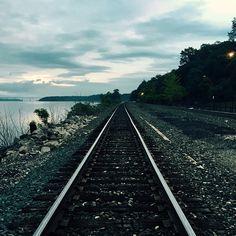 Creating your future, train tracks