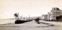 La promenade des Anglais à Nice vers 1880