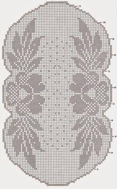 Kira scheme crochet: Scheme crochet no. 63