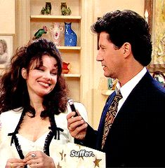 She employed her sexuality in ways without ever sacrificing her agency. | 20 Reasons Fran Drescher Was The Best Role Model Of The '90s (The Nanny)