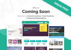 iBid - Multi Vendor Auctions WooCommerce Theme by modeltheme | ThemeForest Online Shopping Websites, Auction