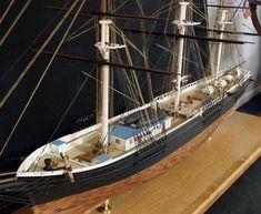 "Ship model ""Comet"" 1851 clipper  From www.shipmodel.com"