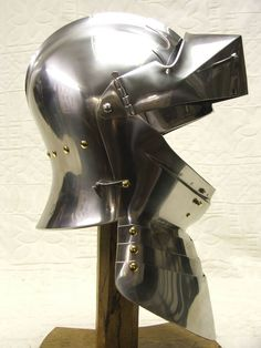Armet italian helmet Medieval renaissance armor helm