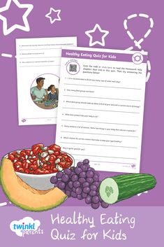 Does your child know how many food groups there are? Simply download the questions and ask your child to answer them. Encourage them to read the Healthy Eating Homework Help guide (accessible via the Homework Help link on the Twinkl Parents homepage) as a revision aid beforehand. Afterwards, check your child's answers against the answer sheet. Follow the link to try this quiz today!