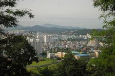 Wonju view from Camp Long.  Gah, I miss that place.