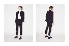 Introducing Agnona womenswear to LN-CC for AW15. Stefano Pilati's AW15 collection experiments with layers this season with sleeveless felted jackets disappearing into long razor-cut tailored pants and elongated knitted dresses worn with billowing trousers.   EXPLORE AW15 Women's Agnona ►http://bit.ly/1KzUOaj