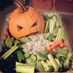 sunn halloween, gresskar, halloweenmat, snacks,