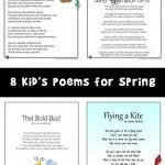 English Poems For Children, Kids Poems, Earth Day, Teaching Kids, Worksheets, Jr, Activities For Kids, Spring, Creative