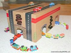 Diy railway and road