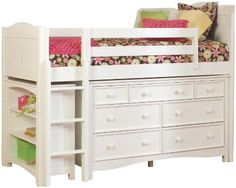 Bolton Furniture 9811500LS8020 Cottage Low Loft Storage Bed with Wakefield 7 Drawer Dresser and Bookcase, White Bolton Furniture http://www.amazon.com/dp/B003D7LD6M/ref=cm_sw_r_pi_dp_ulPsvb196W9VF