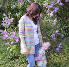 Crochet beautiful and delicate cardigan. Free patterns for crochet cardigan