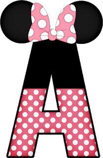 Mickey e Minnie - Minus Mickey E Minnie Mouse, Minnie Png, Mickey Party, Disney Alphabet, Disney Images, Mickey Mouse Birthday, Alphabet And Numbers, Mouse Parties, Disney Wallpaper