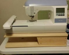 Embroidery Machine Riser for Brother PE by RisingToTheChallenge