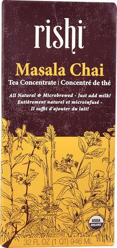 Rishi Tea Organic Masala Chai Tea Concentrate