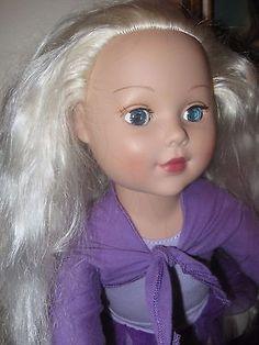 MADAME-ALEXANDER-BALLERINA-2009-18-INCH-DOLL-Platinum-Hair-Blue-Eyes