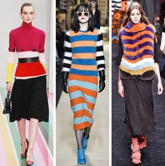 AW16 Fashion Trends on the catwalk at Salvatore Ferragamo, Max Mara, Fendi