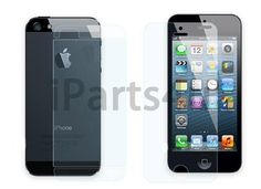 Screenprotector iPhone 5 Voorkant & Achterkant Helder