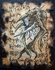 Larva de Yog Sothoth by MrZarono