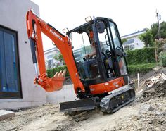 Kubota Tractor Corporation - Construction Equipment | KX Series | K008-3 Ultra-Compact Excavator