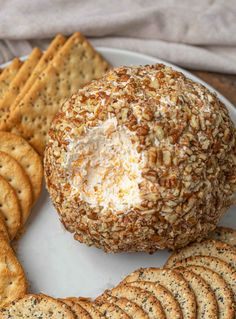 A cheese ball is the perfect low-stress party appetizer that works for everything from New Year's Eve to game day. A cheese ball is the perfect low-stress party appetizer that works for everything from New Year's Eve to game day. Cheese Ball Recipes, Appetizer Recipes, Appetizer Ideas, Fun Recipes, Bread Recipes, Recipies, Holiday Appetizers, Party Appetizers, Party Snacks