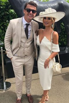 e7423aa6df8 Billie Faiers leaves fans concerned as The Mummy Diaries star risks  breaking Royal Ascot s infamous dress code in low-cut white bardot dress