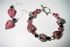 Blissful Garden Beads: A couple of beautiful bracelets by Jude's Jujus