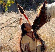 Man & his Horse...