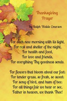 Best Thanksgiving Poems                                                                                                                                                                                 More