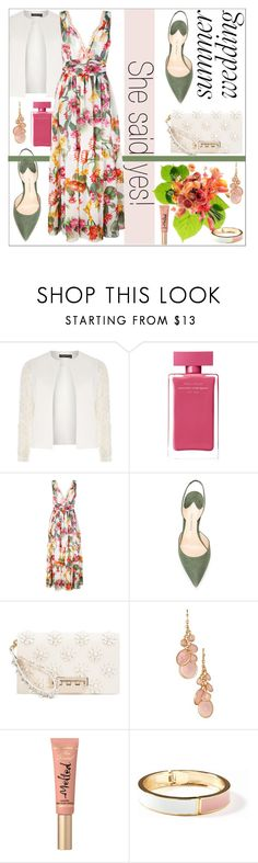 """""""Summer Trend: Floral Maxi Dress"""" by dani-elan ❤ liked on Polyvore featuring Dorothy Perkins, Narciso Rodriguez, Blugirl, Paul Andrew, ZAC Zac Posen, Avon, Too Faced Cosmetics, Old Navy, Summer and floralprint"""
