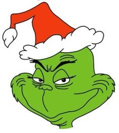 Image result for grinch clipart