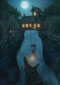 Konzeptkunst von Alex Shatohin - Animation Ideas - Make Up For Beginners Step By Step - Bangle Bracelets DIY - Hairstyles Wedding Guest - DIY Kitchen Projects Fantasy Places, Fantasy World, Dark Fantasy, Medieval Fantasy, Final Fantasy, Fantasy Forest, Fantasy Castle, Fantasy House, Dark Forest