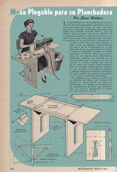 mesas plegables de madera - Buscar con Google