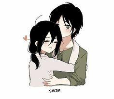Kawaii Phone Case, Eren X Mikasa, Attack On Titan Eren, Eremika, Anime Ships, Anime Couples, Amber Liu, Fan Art, Manga