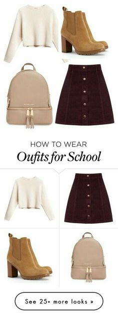 10 super cute rock outfit ideas that you can try . 10 super cute rock outfit ideas that you can try – out Cute Skirt Outfits, Rock Outfits, Cute Skirts, Casual Outfits, Dress Outfits, Brown Skirt Outfits, Outfit With Skirt, Korean Outfits Cute, Korean Outfits School