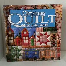 Oxmoor House Christmas Quilt Block Of The Month Binder With Patterns