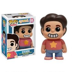 Believe in Steven!  This Steven Universe Vinyl Pop figure features Steven.