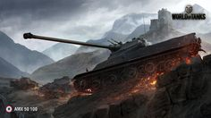 awesome World Of Tanks AMX 50 100
