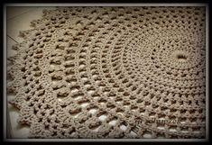 grzebyczkowy świat: Dywanik ze sznurka
